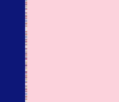 scarf_striped_border_5 fabric by morrigoon on Spoonflower - custom fabric