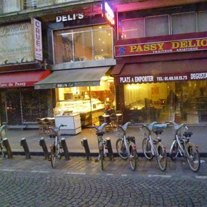Early Morning on Rue Passy, Paris
