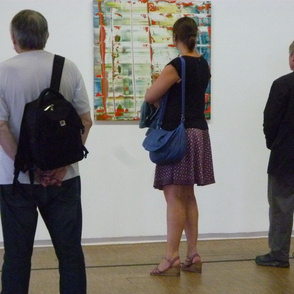 Looking at a Gerhard Richter