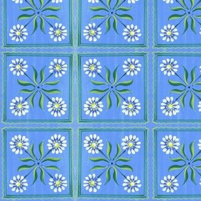 Small Daisy-Blue
