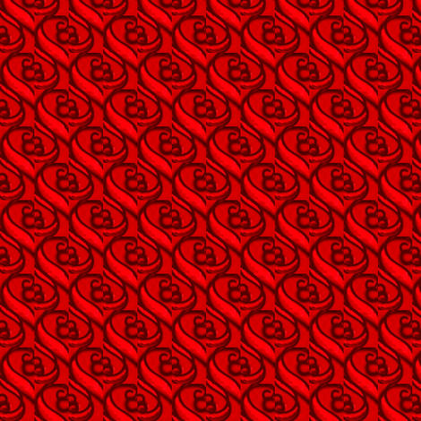 red swirls fabric by dk_designs on Spoonflower - custom fabric