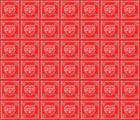 heart_card fabric by mybohohome on Spoonflower - custom fabric