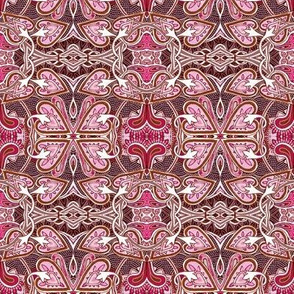 Celtic Love Knots, pink ciniversion