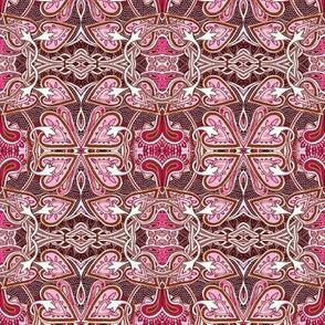 Celtic Love Knots, pink ciniversion