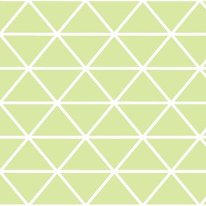 Triangle Citrus Green