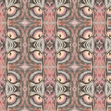 Tiger Eyes fabric by sewbiznes on Spoonflower - custom fabric