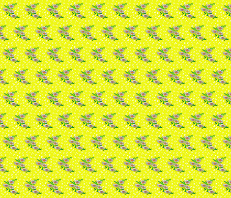 yellow_daisies fabric by mybohohome on Spoonflower - custom fabric