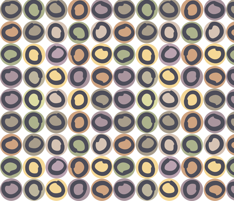 ring_coffee fabric by antoniamanda on Spoonflower - custom fabric