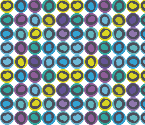 ring_bright fabric by antoniamanda on Spoonflower - custom fabric