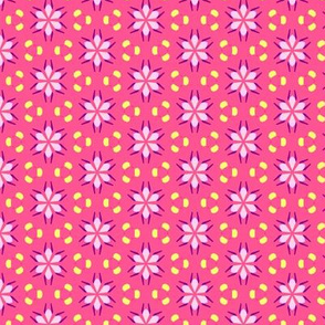 Pretty Patterns Damask Stars Floral - Nov 2012 - 25