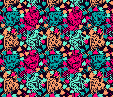 marzlene_beauty_2552 fabric by marzlene'z_eye_candy on Spoonflower - custom fabric
