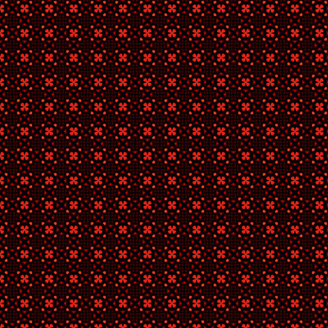 Glowing Red fabric by stitchinspiration on Spoonflower - custom fabric