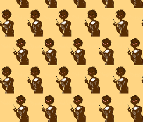 chocolate_20 fabric by vnewton on Spoonflower - custom fabric