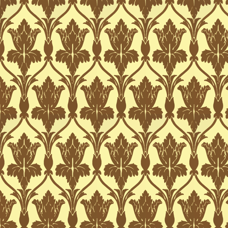 Miniaturized 221B Baker Street fabric by fentonslee on Spoonflower - custom fabric