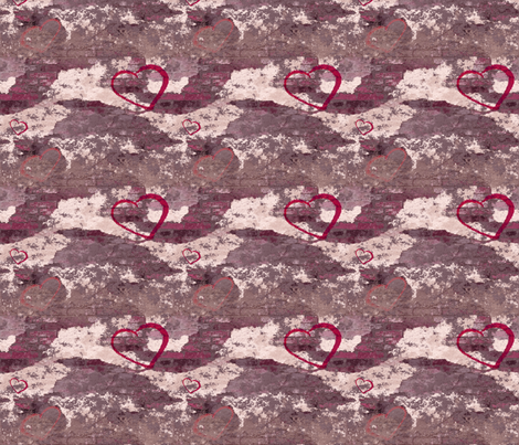 writingsonthewall fabric by grafikat on Spoonflower - custom fabric