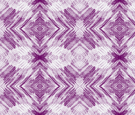 feathers 3-BW-Purple fabric by sewbiznes on Spoonflower - custom fabric