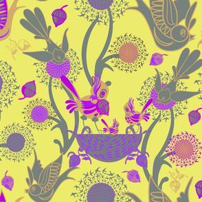 Birds and Nests (Bonnard)