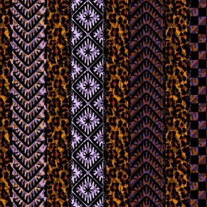 african_stripes mardi gras