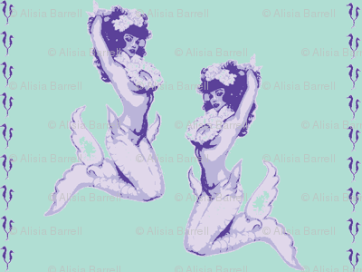 Pinup Mermaids