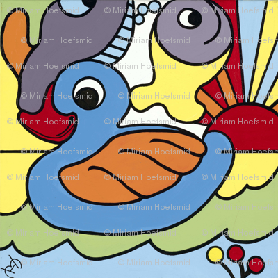 little_duck_40x40cm