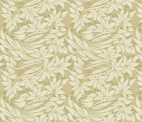tender flowers with transparancies fabric by anastasiia-ku on Spoonflower - custom fabric