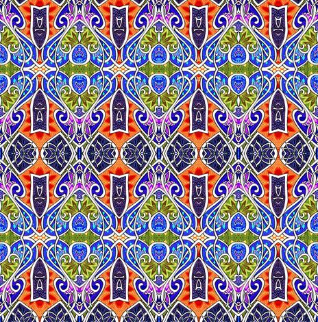 Mediterranean Revival Seventies Style fabric by edsel2084 on Spoonflower - custom fabric