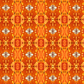 AfricanOrangeAbstract