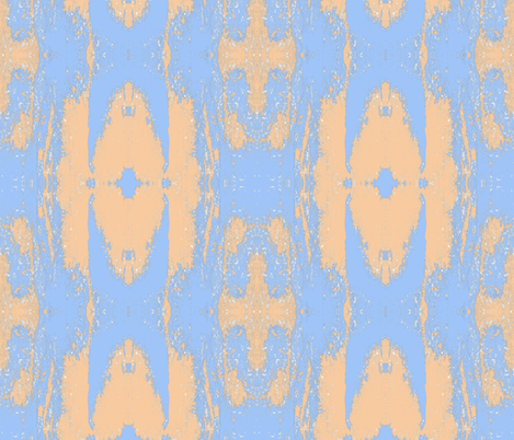 BlueAndPeach fabric by carla_joy on Spoonflower - custom fabric
