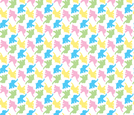 baby_elephants fabric by patti_ on Spoonflower - custom fabric