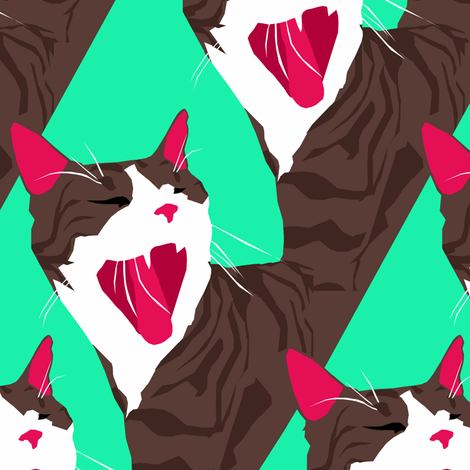 Regelwyn Yawn fabric by pond_ripple on Spoonflower - custom fabric