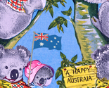 Australia Day Koalas, copyright 2013 seasparkles