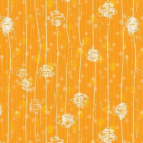 Butterfly Cocoons - orange