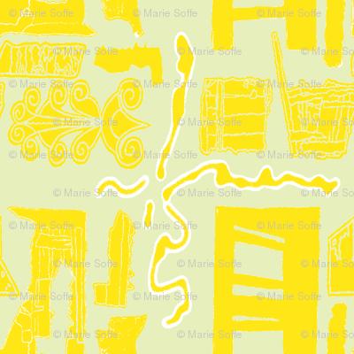 Greek Doors Lemon Sage