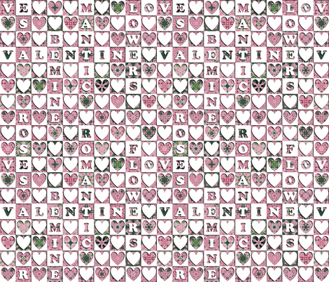 Searching for Love fabric by stitchinspiration on Spoonflower - custom fabric