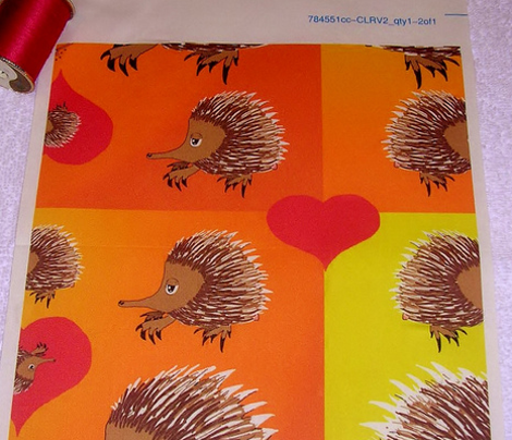 Red Hot Echidna Love for Valentine's Day