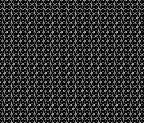 star_grid fabric by glimmericks on Spoonflower - custom fabric