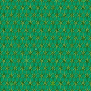 star grid emerald