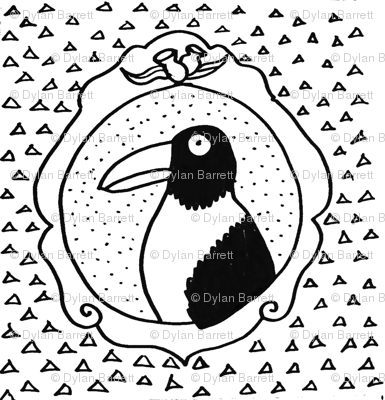 Mrs Magpie's Portrait