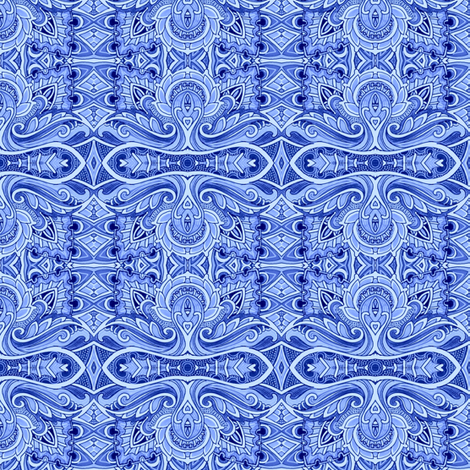 Midnight Swirl fabric by edsel2084 on Spoonflower - custom fabric