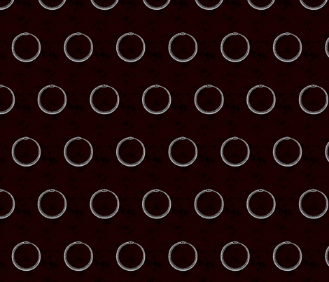 Ouroboros fabric by mosquitha on Spoonflower - custom fabric