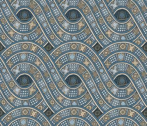 Ibini Zn fabric by spellstone on Spoonflower - custom fabric