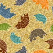 Tossed Anteaters in the Dreamtime
