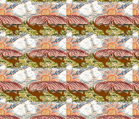 Australia fabric by back_river_designs on Spoonflower - custom fabric