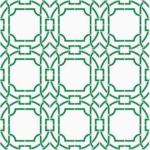 Bamboo Trellis-Green