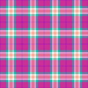 Melon Berry Plaid 2