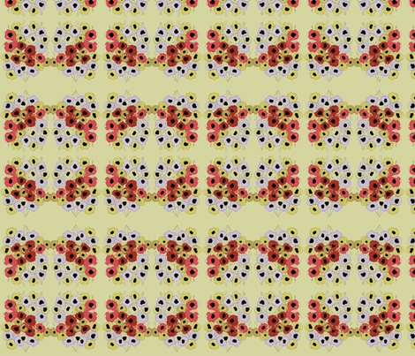 Flores fabric by ana_somaglia on Spoonflower - custom fabric