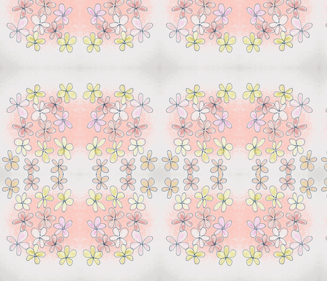 Bouquet fabric by ana_somaglia on Spoonflower - custom fabric