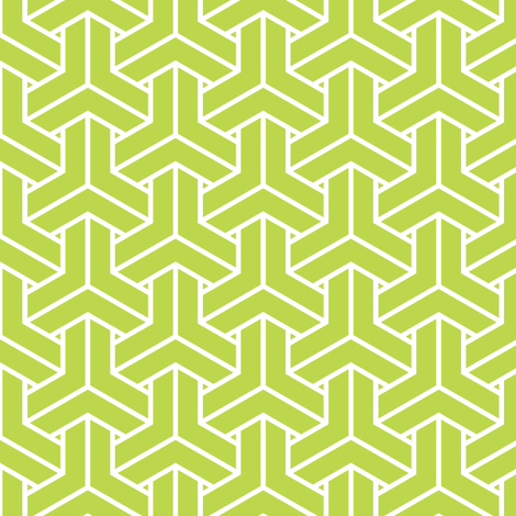 bishamon solid mini in peridot fabric by chantae on Spoonflower - custom fabric