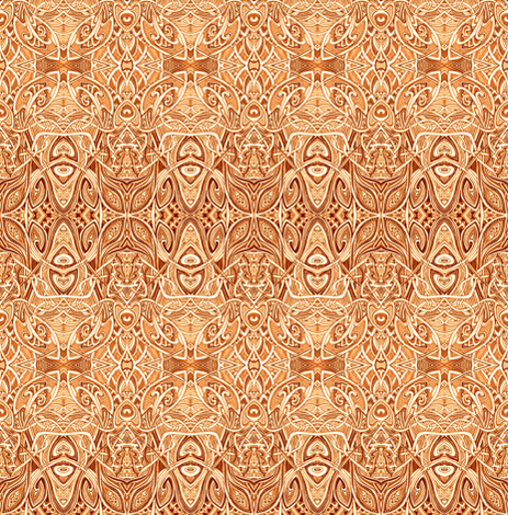 Moorish Sands fabric by edsel2084 on Spoonflower - custom fabric