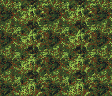 1/6 German Bundeswehr Flecktarn Camo fabric by ricraynor on Spoonflower - custom fabric